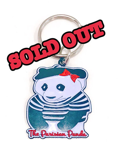 The Parisian Panda Keychain