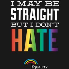 I may be straight