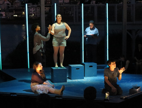 """""""The Curious Incident of the..."""" (2019) Apollinaire Theatre Company Photography by: Danielle Fauteux Jaques"""