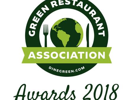 2018 Green Restaurant Award Winners