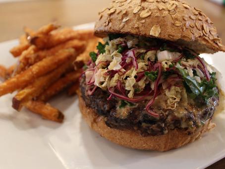 Sustainable Recipe Series: The Power Protein VegeNation Burger
