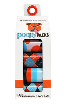 Poopy Packs Multi Orange 8 Pack Cover Image