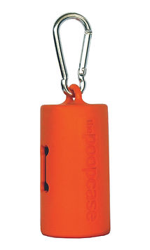 The Poopcase Orange Cover Image_poopbag holder_compostable