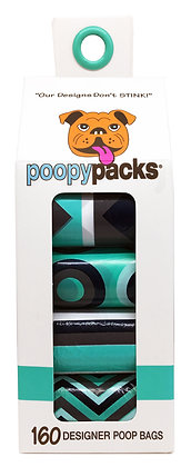 Seafoam 8-Pack Poopy Packs® Case (16 Units)