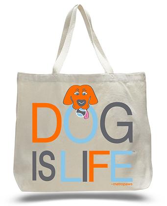 Dog is Life Tote Bag