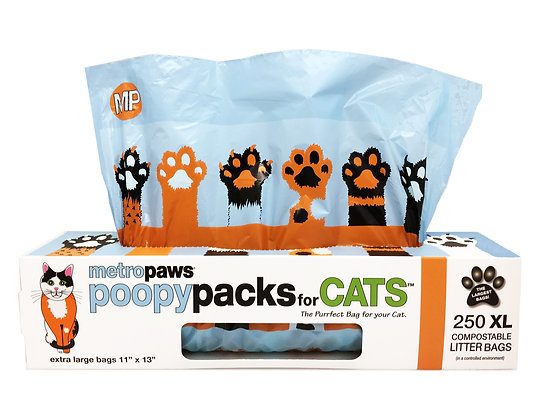Poopy Packs for CATS™ Orange