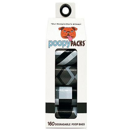 Poopy Packs® Black Multi 8-pack