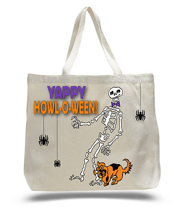 Yappy Howl-o-ween Tote Bag