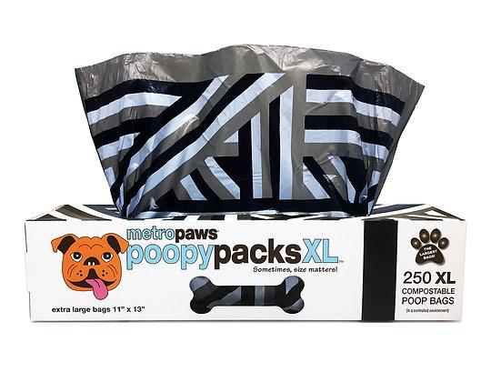 Poopy Packs XL™ Black Stripes