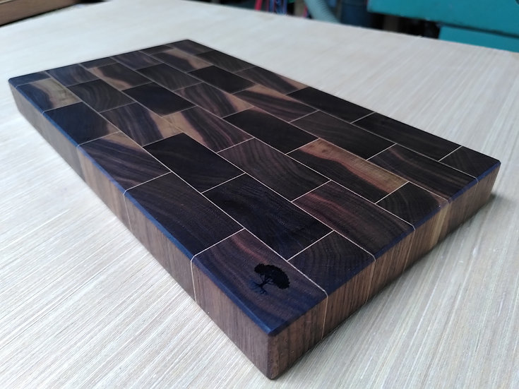 Planche en bois de bout