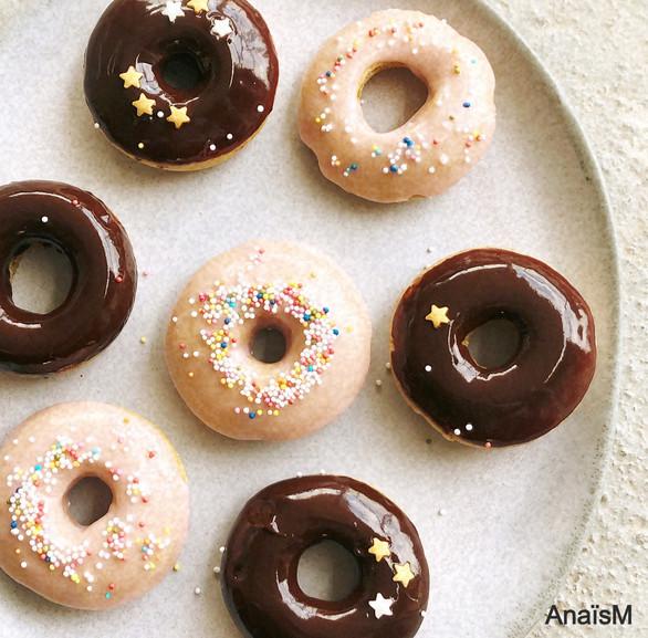 Mini doughnuts au four
