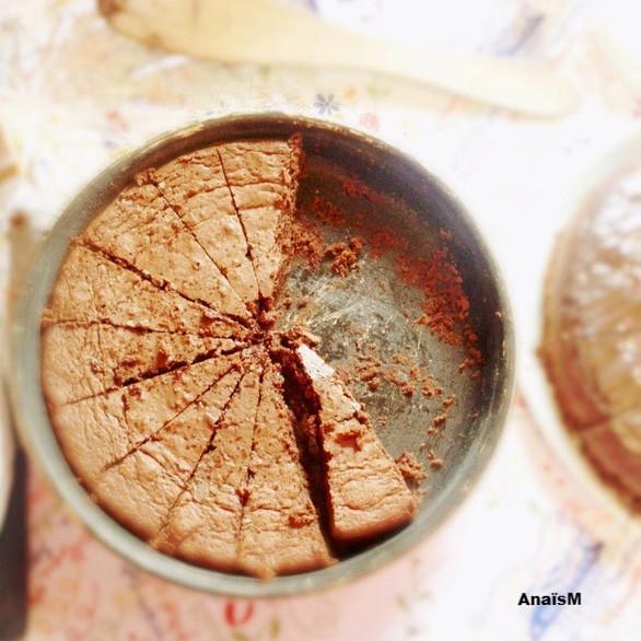 LA TUERIE: fondant chocolat et fleur de sel