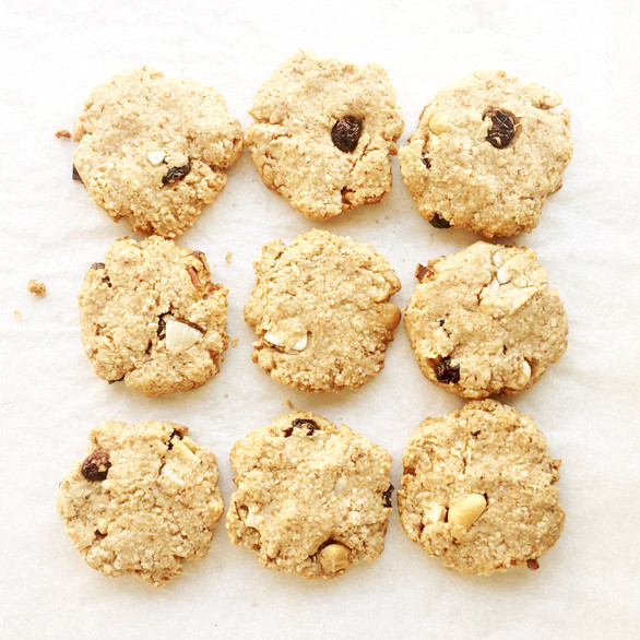 Biscuits vegan (sans sucre ajouté)