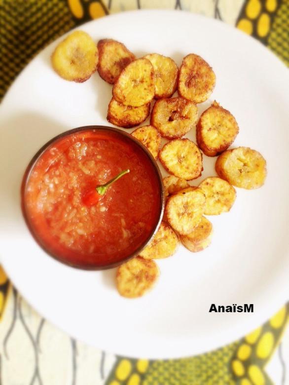 ALLOCOS: banane plantain frite