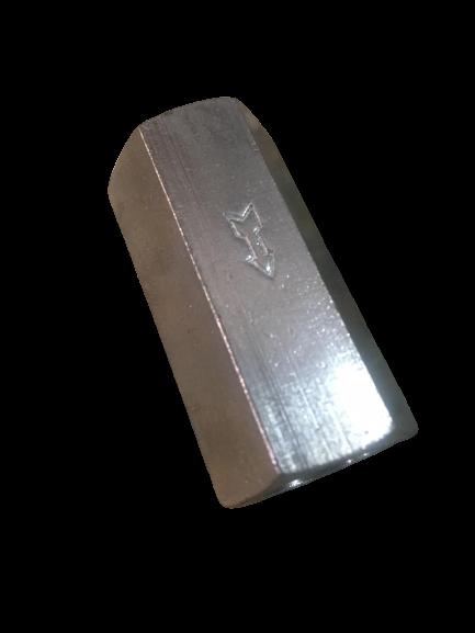 Обратный клапан (бронза никелированный)