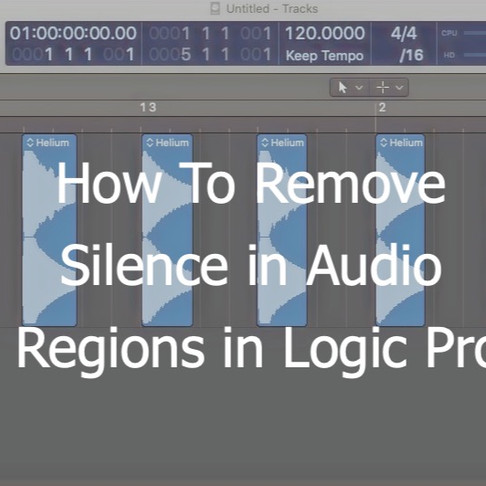 Remove Silence from Regions: Physically Gating your tracks in Logic Pro