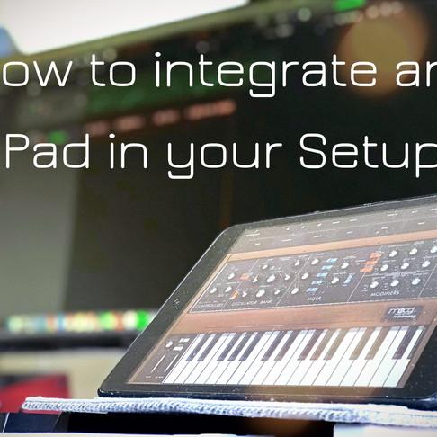 Logic Pro and iPad: Using your iPad as an External Instrument