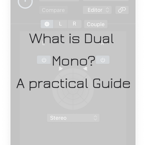 What is Dual Mono? A Practical Walkthrough.