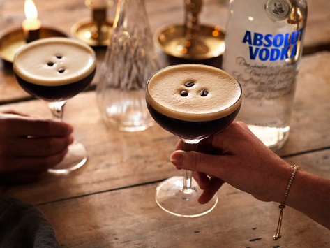 Something to wake up your taste buds.  The  Espresso Martini
