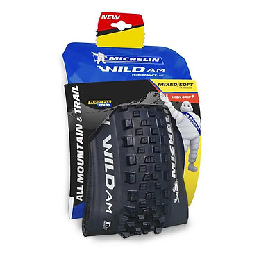 Cubierta Michelin Wild AM Performance Line 27.5x2.6 Tubeless Ready negro