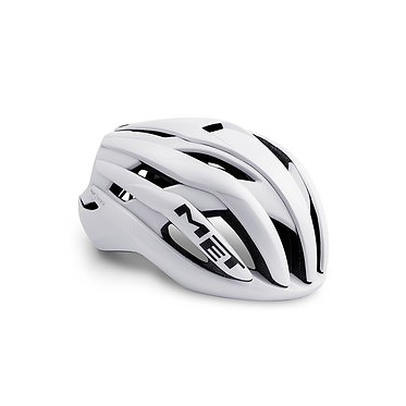 CASCO MET TRENTA BLANCO MATE BRILLO