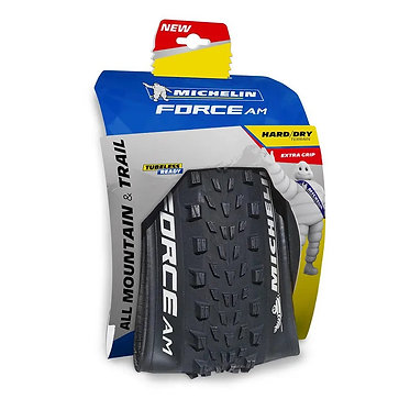 Cubierta Michelin Force AM Competition Line 27.5x2.60 Tubeless Ready negro