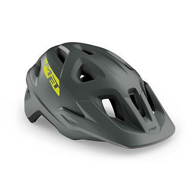 CASCO MET ECHO GRIS MATE