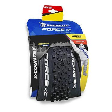 Cubierta Michelin Force XC Performance Line 29x2.35 Tubeless Ready negro