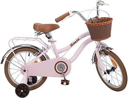 "Bicicleta 16"" VINTAGE rosa"