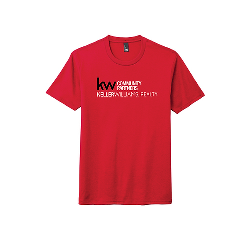 KW FULL FRONT UNISEX TRIBLEND TEE RED