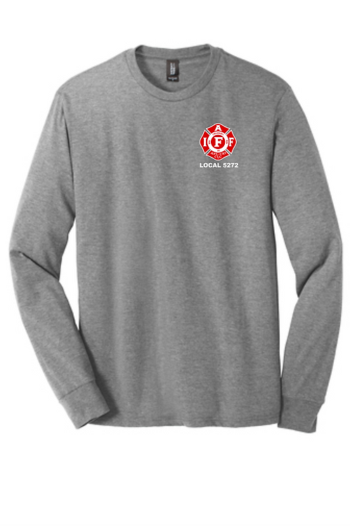 OXFORD FIRE TRIBLEND LONG SLEEVE TEE