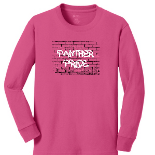 DENNIS PINK YOUTH LONG SLEEVE