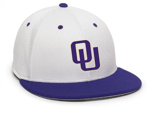 Ohio United- WHITE/PURPLE FLEXFIT