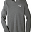 Thumbnail: SVF UNISEX TRIBLEND LONG SLEEVE- GRAY