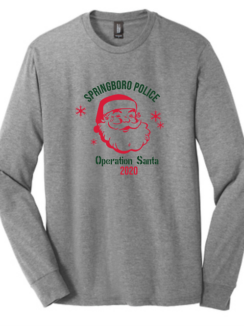 OPERATION SANTA YOUTH COTTON LONG SLEEVE