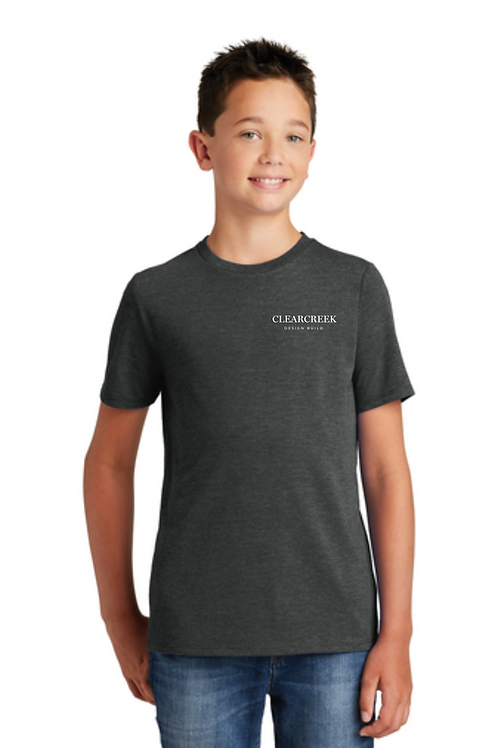 CLEARCREEK CO YOUTH TRIBLEND TEE