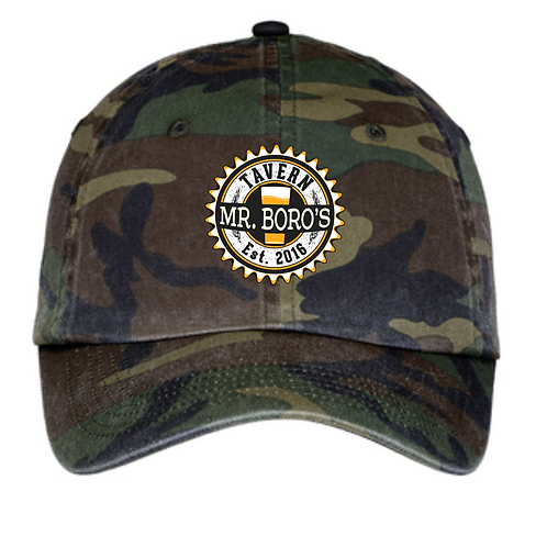 Camo Mr. Boro Hat