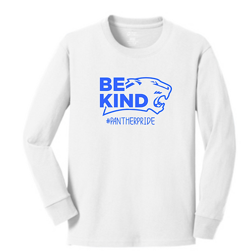 SI WHITE ADULT  LONG SLEEVE TEE
