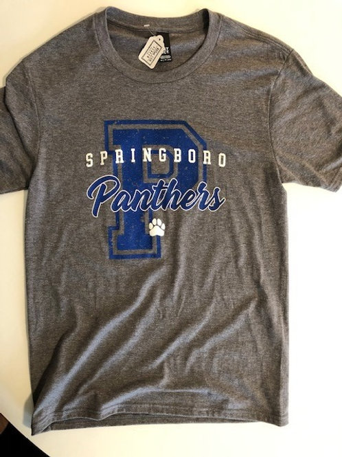 SHOP PANTHERS UNISEX TRIBLEND TEE