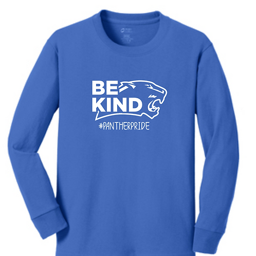 SI BLUE YOUTH LONG SLEEVE