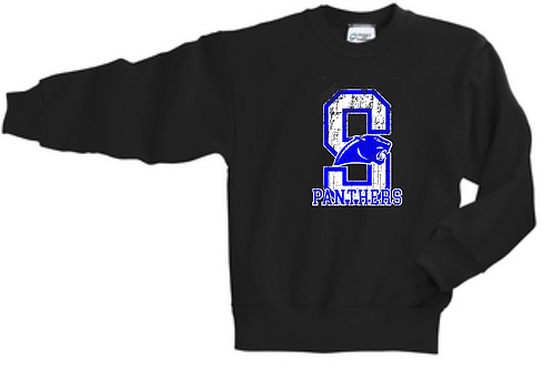 DENNIS BLACK YOUTH CREW SWEATSHIRT