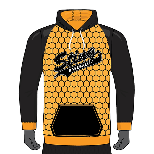 STING HONEYCOMB FLEECE HOODIE- YOUTH