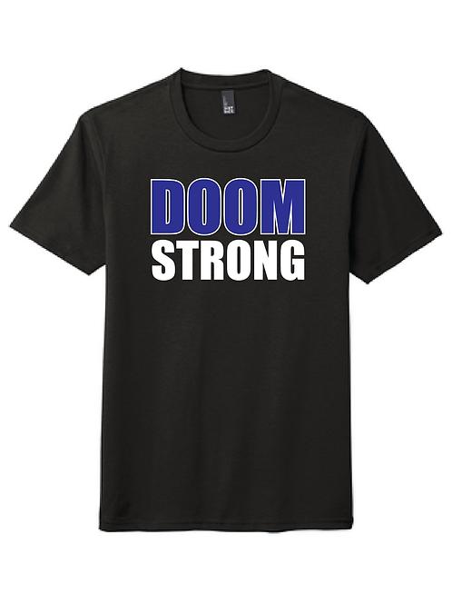 DOOM STRONG 50/50 TEE BLACK