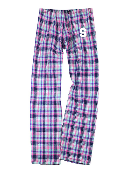 DENNIS YOUTH BOXERCRAFT FLANNEL PANTS PINK