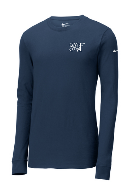 SVF NIKE UNISEX LONG SLEEVE0- NAVY