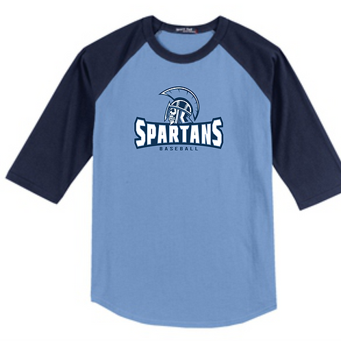 Spartans Youth Raglan Tee