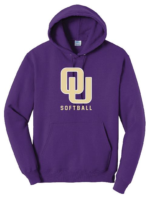 Ohio United - 50/50 Hoodie Purple-YOUTH