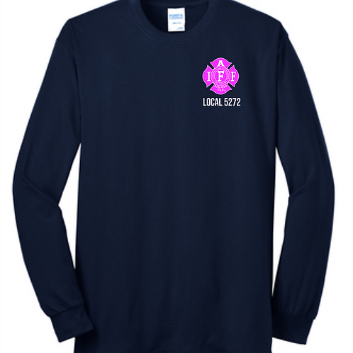 OXFORD BREAST CANCER LONG SLEEVE TEE