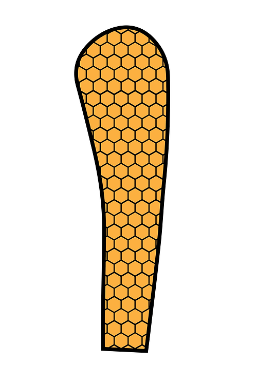 STING HONEYCOMB COMPRESSION SLEEVE- YOUTH
