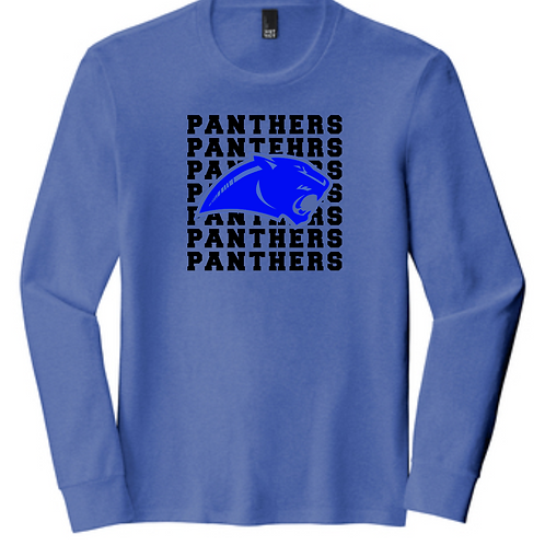 SI BLUE ADULT  LONG SLEEVE TRIBLEND TEE